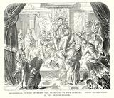 Allegorical Picture of Henry VIII Trampling on Pope Clement