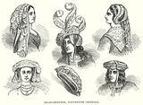 Head-Dresses, Sixteenth Century