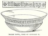 Mazer Bowl, Time of Richard II