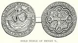 Gold Noble of Henry V