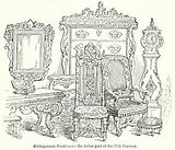Sitting-Room Furniture – The Latter Part of thr 17th Century