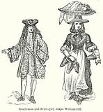 Gentleman and Fruit-Girl, Tempo William III