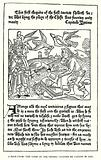 """A page from """"The Game of Chesse"""" printed by Caxton in 1480"""