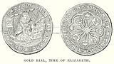 Gold Rial, Time of Elizabeth