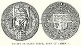 Thirty Shilling Piece, Time of James I