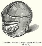 Tilting Helmet, Fourteenth Century