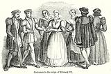 Costumes in the Reign of Edward VI