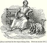 Chair and Stool in the Reign of King John