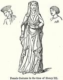 Female Costume in the Time of Henry III