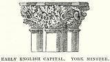 Early English Capital, York Minster