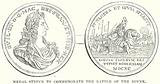 Medal Struck to Commemorate the Battle of the Boyne