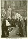 Funeral of Mr Gladstone in Westminster Abbey