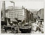 Cotton Mills, Miles Platting, Manchester