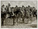 Prince William of Germany Addressing the Hussars