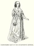 Fashionable Lady of the Seventeenth Century