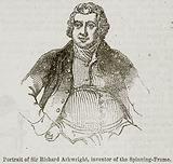 Portrait of Sir Richard Arkwright, Inventor of the Spinning-Frame