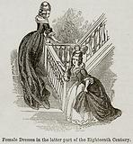 Female Dresses in the Latter Part of the Eighteenth Century