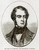 The Earl of Clarendon, Lord-Lieutenant of Ireland