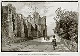 North Terrace and Wykeham Tower, Windsor Castle