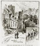 """Windsor Castle, from Thames Street, and """"Bit"""" of the Outer Walis"""
