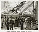 "The Queen Inspecting the ""Galatea"" in Osborne Bay"
