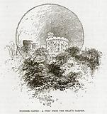 Windsor Castle: A Peep from the Dean's Garden