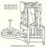 Arkwright's Spinning-Jenny