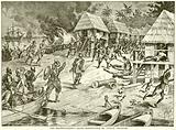 Don Bartholomew's Cruel Destruction of Indian Villages