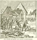 The Attack on Quebec and Death of Montgomery