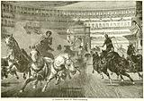 A Chariot Race in the Colosseum