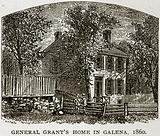 General Grant's Home in Galena, 1860