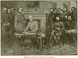 General Lee Signing the Conditions of Surrender