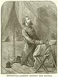 Stonewall Jackson before the Battle