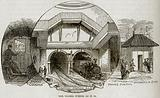 The Thames Tunnel as it is