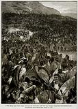 The Zulus Bore down upon our Men by Thousands …