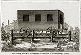 "The First Railway Passanger Carriage,""Experiment"""