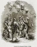 Cressets of the Sixteenth Century. – Hollar
