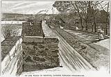 On the Walls of Berwick, looking towards Tweedmouth