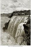 Niagara: The American Fall from Goat Island