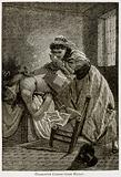 Charlotte Corday Stabs Marat