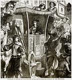 Charles I Hooted by the Pepole after his Attempted Arrest of the Members