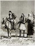 Sciote Peasants driven away by the Approach of the Turks