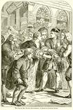 The South Sea Bubble Excitement; A Scene in Change Alley