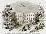 The Earl of Exeter's House, Derby, where Charles Edward Lodged