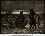 Conspirators Landing at Romney Marsh