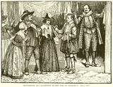 Shopkeeper and Apprentice in the Time of Charles I