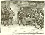 Interview between Charles and the Earl of Denbigh