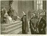Peers and Commoners presenting the Patriotic address to the Queen on the Eve of the Crimean War