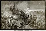 Charge of the Highlanders at Tel-el-Kebir