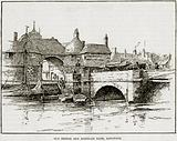 Old Bridge and Barbican Gate, Sandwich